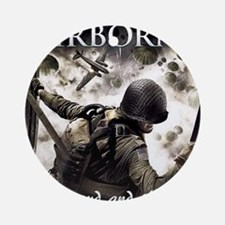 2-Airborne.moh.mousepad Round Ornament