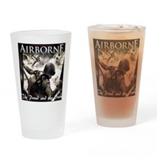 2-Airborne.moh.mousepad Drinking Glass