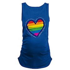 Rainbow Back copy Maternity Tank Top