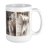 Contemplation Large Mug