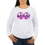 Love Scrapbooking Women's Long Sleeve T-Shirt