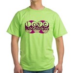 Love Scrapbooking Green T-Shirt