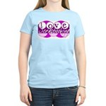 Love Scrapbooking Women's Pink T-Shirt