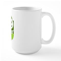 Love Scrapbooking - green Mug