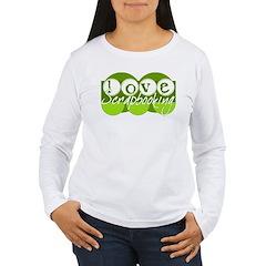 Love Scrapbooking - green T-Shirt