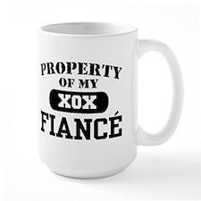 Property of my Fiance Mug