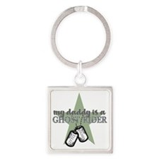GHOST RIDER BOYS Square Keychain