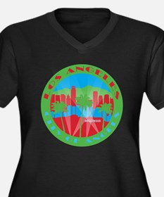 LA City of Angels primary Plus Size T-Shirt