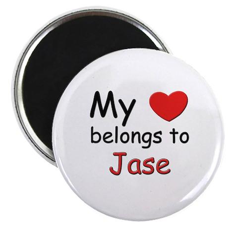 My heart belongs to jase Magnet