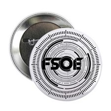 "Emblem Black 2.25"" Button"