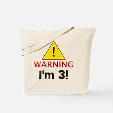warningim3 Tote Bag