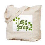 Let's Scrap -2 Tote Bag