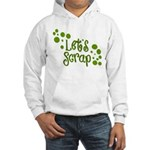 Let's Scrap -2 Hooded Sweatshirt