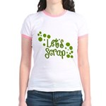 Let's Scrap -2 Jr. Ringer T-Shirt