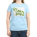 Let's Scrap -2 Women's Pink T-Shirt