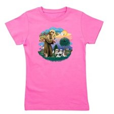 Shih Tzus (four) - St Francis 2R Girl's Tee