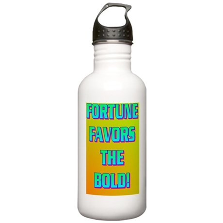 FORTUNE FAVORS THE BOL Stainless Water Bottle 1.0L