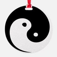 2-yinyang_hat Ornament