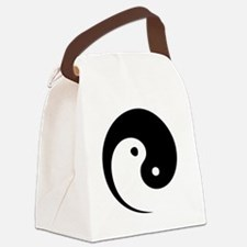 2-yinyang_hat Canvas Lunch Bag