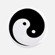 "2-yinyang_hat 3.5"" Button"