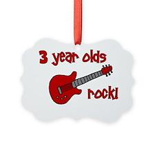 3yearoldsrock_redguitar Ornament
