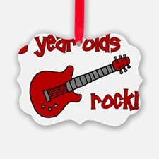 3yearoldsrock_redguitar Ornament