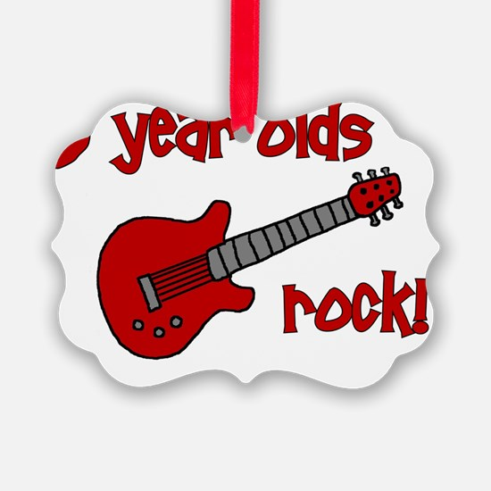 9yearoldsrock_redguitar Ornament