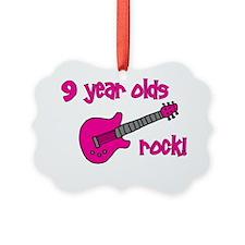 9yearoldsrock_pinkguitar Ornament