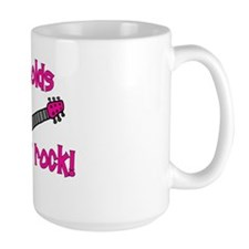9yearoldsrock_pinkguitar Mug