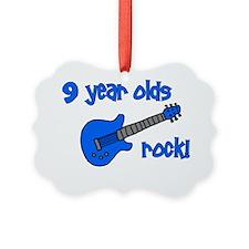 9yearoldsrock_blueguitar Ornament