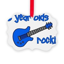 6yearoldsrock_blueguitar Ornament