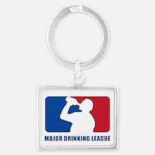 Major Drinking League Landscape Keychain