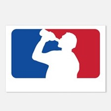 Major Drinking League Whi Postcards (Package of 8)