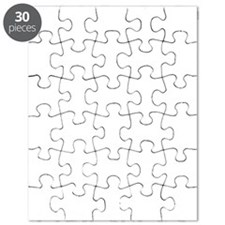 Out Of Beer White Puzzle