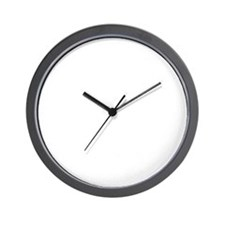 Out Of Beer White Wall Clock