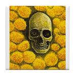 Marigold Mantra Tile Coaster
