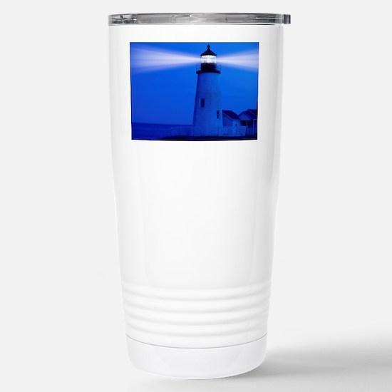 Pemaquid Maine Stainless Steel Travel Mug