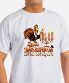 Happy Thanksgivukkah Thankgiving Hanukkah T-Shirt