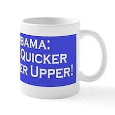obama sticker Mug
