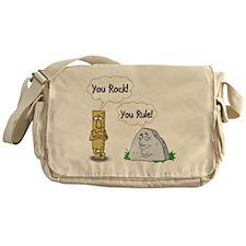 You Rock, You Rule Messenger Bag