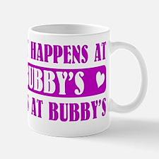 what happens at BUBBYS Mug