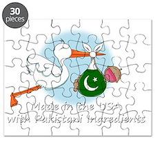 stork baby pak white 2 Puzzle