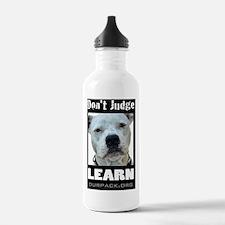 dontjudgelearn Water Bottle