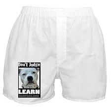 dontjudgelearn Boxer Shorts