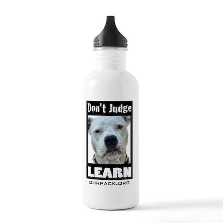 dontjudgelearn4 Stainless Water Bottle 1.0L