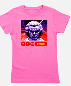 BEETHOVEN PISSED Girl's Tee