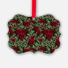 SPARKLING POINSETTIAS Ornament
