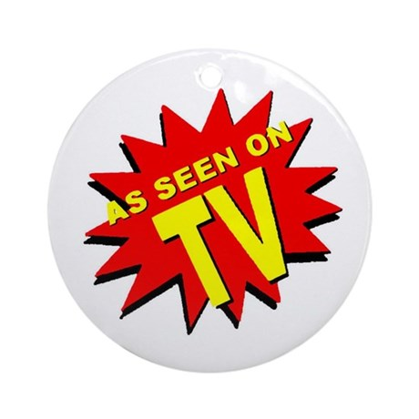 As Seen on TV Ornament (Round)