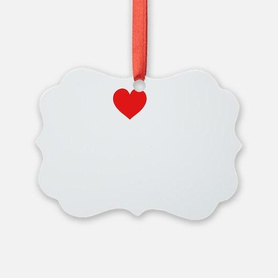 2-heart my 4th grade class dink s Ornament