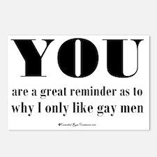 gaymen_sq2 Postcards (Package of 8)